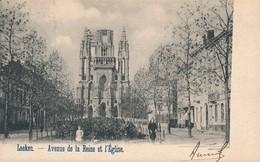CPA - Belgique - Brussels - Bruxelles - Avenue De La Reine Et L'Eglise - Lanen, Boulevards