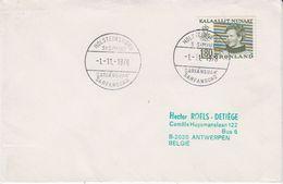 Greenland 1978 Holsteinborg Ca 1.11.1978 Cover (42368) - Brieven En Documenten