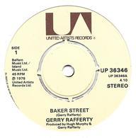 "Gerry Rafferty   ""  Baker Street  "" - Vinyles"