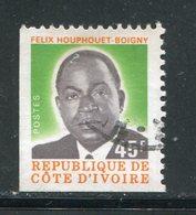 COTE D'IVOIRE- Y&T N°430- Oblitéré - Côte D'Ivoire (1960-...)