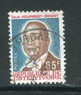 COTE D'IVOIRE- Y&T N°433- Oblitéré - Côte D'Ivoire (1960-...)