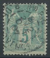 Lot N°47933  N°75, Oblit Cachet à Date De PARIS 22 (R.DE PROVENCE) - 1876-1898 Sage (Type II)