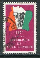 COTE D'IVOIRE- Y&T N°591- Oblitéré (éléphants) - Côte D'Ivoire (1960-...)