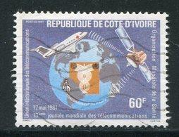 COTE D'IVOIRE- Y&T N°572- Oblitéré - Côte D'Ivoire (1960-...)