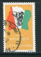 COTE D'IVOIRE- Y&T N°641- Oblitéré (éléphants) - Côte D'Ivoire (1960-...)