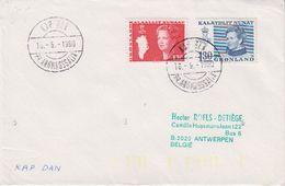 Greenland 1980 Kap Dan Ca 16.9.1980 Cover (42370) - Groenland