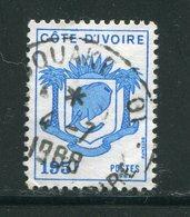 COTE D'IVOIRE- Y&T N°791- Oblitéré (armoiries) - Côte D'Ivoire (1960-...)