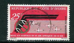 COTE D'IVOIRE- P.A Y&T N°30- Oblitéré - Côte D'Ivoire (1960-...)