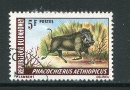 DAHOMEY- Y&T N°265- Oblitéré (Phacochères) - Bénin – Dahomey (1960-...)