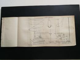 ANNALES DES PONTS Et CHAUSSEES - Plan D'acide Carbonique - 1894 (CLC46) - Technical Plans