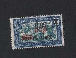 Faux Madagascar N° 241b Surcharge Roucge Renversée Nsg - Neufs