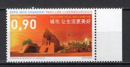 LUXEMBOURG  -  2010 WORLD FAIR SHANGHAI    M886 - 2010 – Shanghai (China)