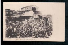 ETHIOPIE  HARAR. Place Du Marché Ca 1905 OLD  POSTCARD - Ethiopië