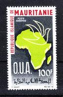 Mauritania   - 1966.  Unità Africana: Carta Geografica Continente Africano. Map Of African Continent. MNH - Geografia