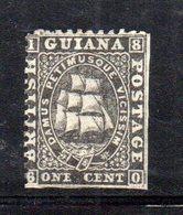 APR356 - BRITISH GUYANA1860 , Yvert  N. 15  Nuovo Senza Gomma. Due Lati Senza Dentellatura - Guyana Britannica (...-1966)