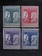 """ITALIA Colonie Somalia-1928- """"Prò Società Africana"""" Cpl. 4 Val. MH* (descrizione) - Somalia"""
