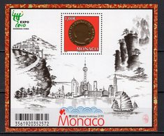 MONACO -  2010 WORLD FAIR SHANGHAI    M890 - 2010 – Shanghai (China)