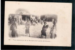 ETHIOPIE  Vue Interieure De La Sangha- Ber (porte De Harar) Ca 1905 OLD  POSTCARD - Ethiopië