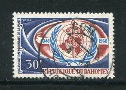 DAHOMEY- Y&T N°275- Oblitéré - Bénin – Dahomey (1960-...)