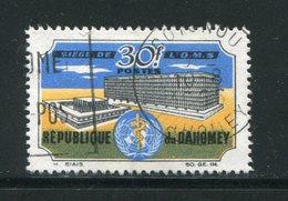 DAHOMEY- Y&T N°239- Oblitéré - Bénin – Dahomey (1960-...)
