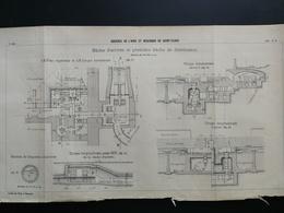 ANNALES DES PONTS Et CHAUSSEES (Dep 92) - Aqueduc De L'Avre Et Réservoir De Saint-Cloud - 1902 (CLC49) - Cartes Marines