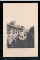 ETHIOPIE  Harar Rue Commercante Ca 1905 OLD  POSTCARD - Ethiopië