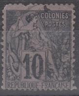 #135 COLONIES GENERALES N° 50 Oblitéré Pondichéry (Inde) - Alphée Dubois