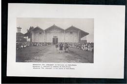 ETHIOPIE   L'Aderach Au Château De Adis-Ababa  Ca 1910 OLD  POSTCARD - Ethiopië