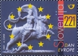 ESLOVENIA 2001 - SLOVENIE - DIA DE EUROPA - YVERT Nº 316** - Slovénie