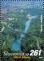 ESLOVENIA 2001 - SLOVENIE - MILENARIO DE SOLKAN - YVERT Nº 317** - Slovénie