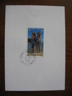 Polynésie 1992 N° 367  Papeete Tahiti Tableau Journée Mondiale Du Tourisme à Voir - Lettres & Documents