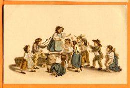 SPR006, Pro Juventute, Gottefried Mind 1768-1814, Enfants, Non Circulée - Cartes Postales