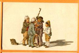 SPR007, Pro Juventute, Gottefried Mind 1768-1814, Enfants, Non Circulée - Cartes Postales