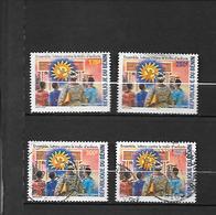 TIMBRES OBLITERES DU BENIN   DE 2004 N° MICHEL 1363/66 - Bénin – Dahomey (1960-...)