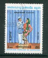 KAMPUCHEA- Y&T N°385- Oblitéré - Kampuchea