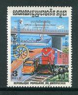 KAMPUCHEA- Y&T N°435- Oblitéré - Kampuchea