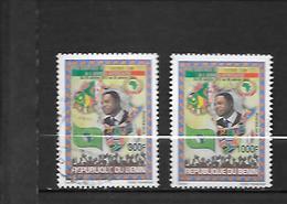 TIMBRE OBLITERE DU BENIN DE 2013 N° MICHEL 1659/60 - Bénin – Dahomey (1960-...)