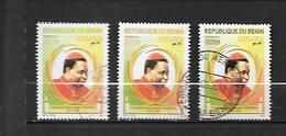 TIMBRE OBLITERE DU BENIN  DE 2011 N° MICHEL 1648/50 - Bénin – Dahomey (1960-...)