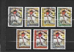 TIMBRE OBLITERE DU BENIN DE 2003 N° MICHEL 1356/62 - Bénin – Dahomey (1960-...)