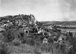 24-CASTELNAUD-FAYRAC- VUE GENERALE ET LA DORDOGNE - France