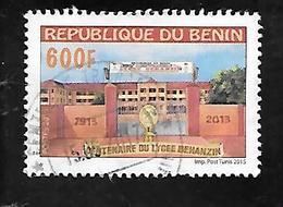 TIMBRE OBLITERE DU BENIN DE 2015 - Bénin – Dahomey (1960-...)