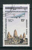 KAMPUCHEA- P.A Y&T N°34- Oblitéré - Kampuchea
