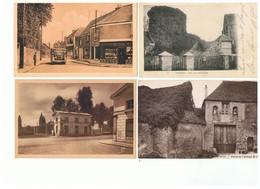 1916-716  4cp  Galluis-chevreuse-porchefontaine-ferme Abbaye De ? Dep 78 La Vente Sera Retirée  Le 05-05 - France