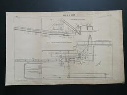ANNALES DES PONTS Et CHAUSSEES (Dep 61) - Plan Du Phare De La Courbe - 1906 (CLC52) - Cartes Marines