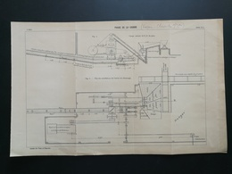 ANNALES DES PONTS Et CHAUSSEES (Dep 61) - Plan Du Phare De La Courbe - 1906 (CLC52) - Nautical Charts