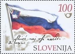 ESLOVENIA 2001 - SLOVENIE - 10º ANIVERSARIO DE LA INDEPENDENCIA - YVERT Nº 327B** - Slovénie