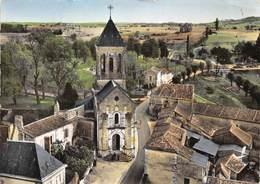 24-BOURDEILLES-EGLISE ST-PIERRE VUE DU CIEL - France