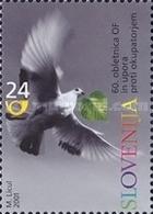 ESLOVENIA 2001 - SLOVENIE - 60º ANIVERSARIO DE LA RESISTENCIA - YVERT Nº 327** - Slovénie