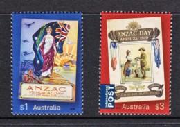 Australia 2019 ANZAC DAY 1919 Set Of 2 MNH - Mint Stamps