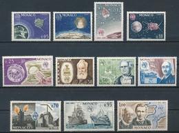 °°° MONACO - Y&T N°664/74 - 1965 MNH °°° - Monaco